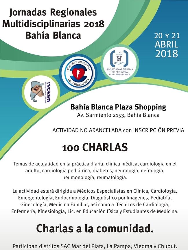 Bahía Blanca será la sede de la primera Jornada Regional de la SAC