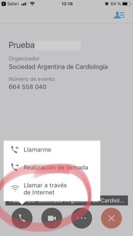 Webex iPhone