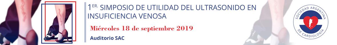 """Simposio """"Utilidad del ultrasonido en insuficiencia venosa"""" del Consejo de Eco-Doppler Cardíaco y Vascular @ Sociedad Argentina de Cardiología"""